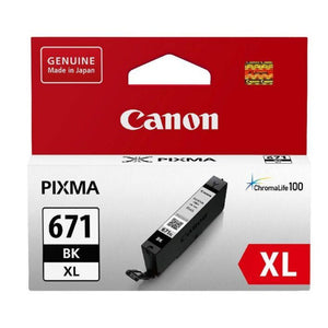 Canon CLI671XL genuine photo black ink refill
