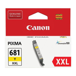 CLI681XXL Canon genuine yellow ink refill