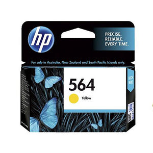 HP564 Genuine Yellow Ink Cartridge Refill
