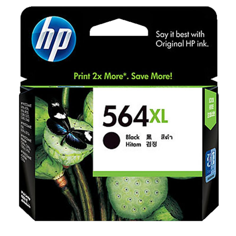 HP564XL Genuine Black Ink Cartridge