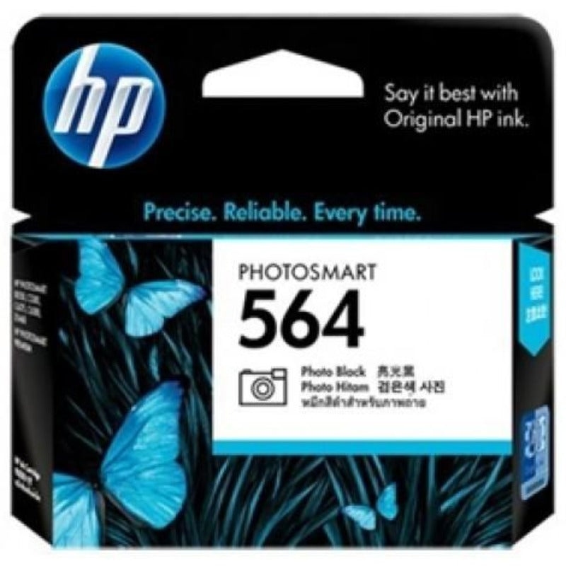 HP564 Genuine Photo Black Ink Cartridge Refill