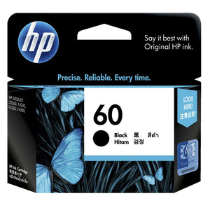 HP60 Genuine Black Ink Cartridge