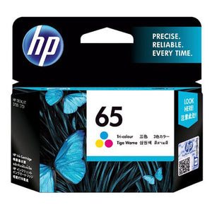 HP65 Genuine Tri-Colour Ink Cartridge