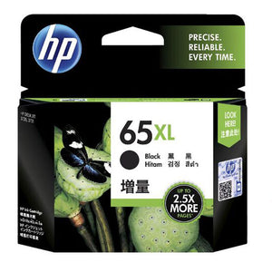 HP65XL Genuine Black High Yield Ink Cartridge