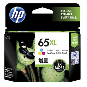 HP65XL Genuine Tri-Colour Ink