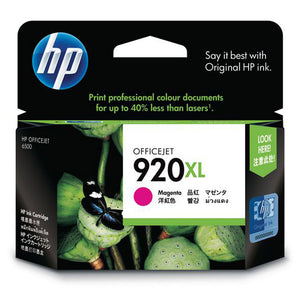 Genuine HP920XL magenta ink refill