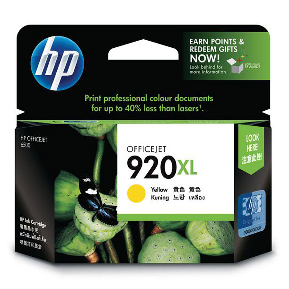 Genuine HP920XL yellow ink refill