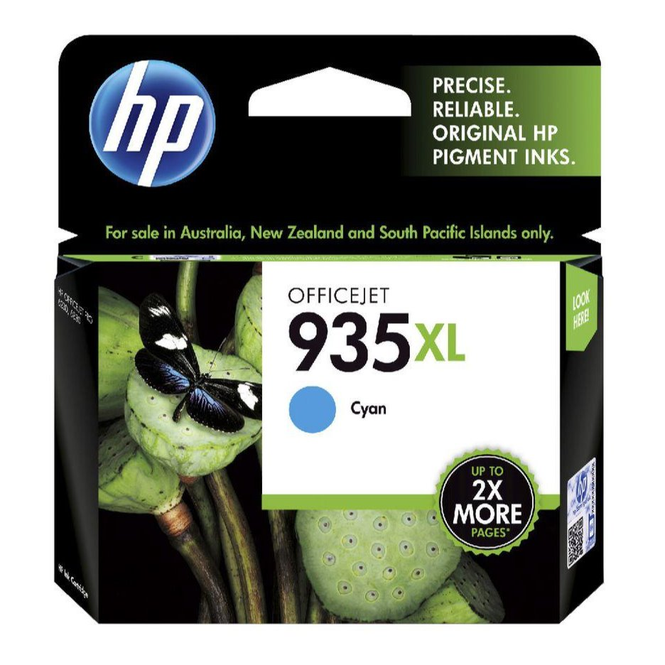HP935XL Genuine Cyan Ink Cartridge