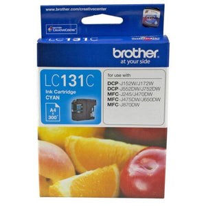 LC131 Genuine Brother Cyan Ink Refill