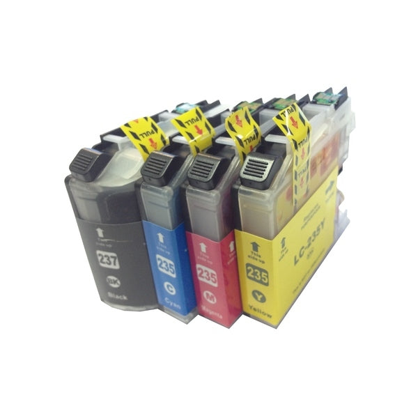 LC237XL LC235XL Brother compatible ink value pack