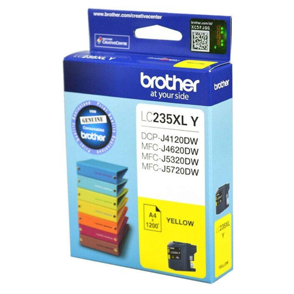 LC235XL Genuine Brother Yellow Ink Refill