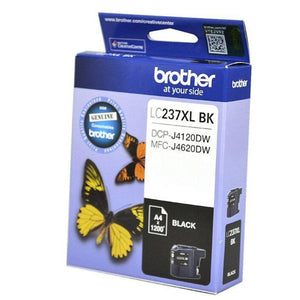 LC237 Genuine Brother black ink cartridge