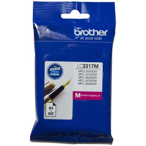 LC3317 Brother genuine magenta ink