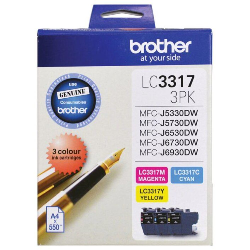 LC3317 Brother colour value pack