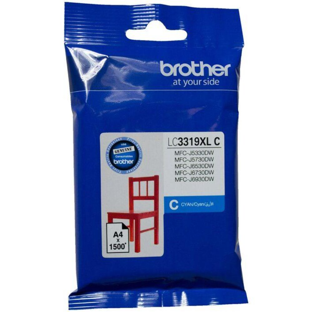 LC3319XL Brother genuine cyan ink