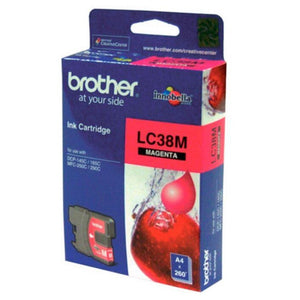 LC38 Brother genuine magenta ink