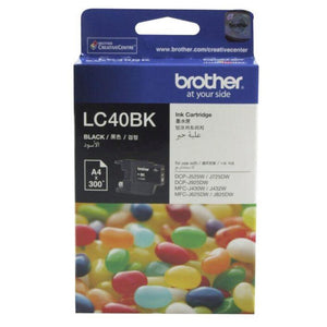LC40 Brother genuine black ink refill