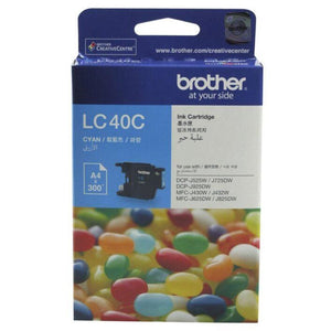 LC40 Brother genuine cyan ink