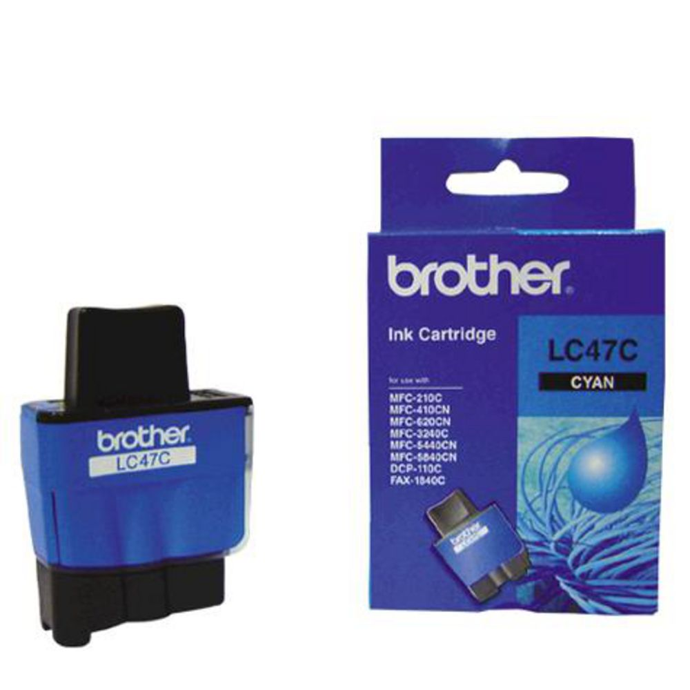 LC47 Brother genuine cyan ink