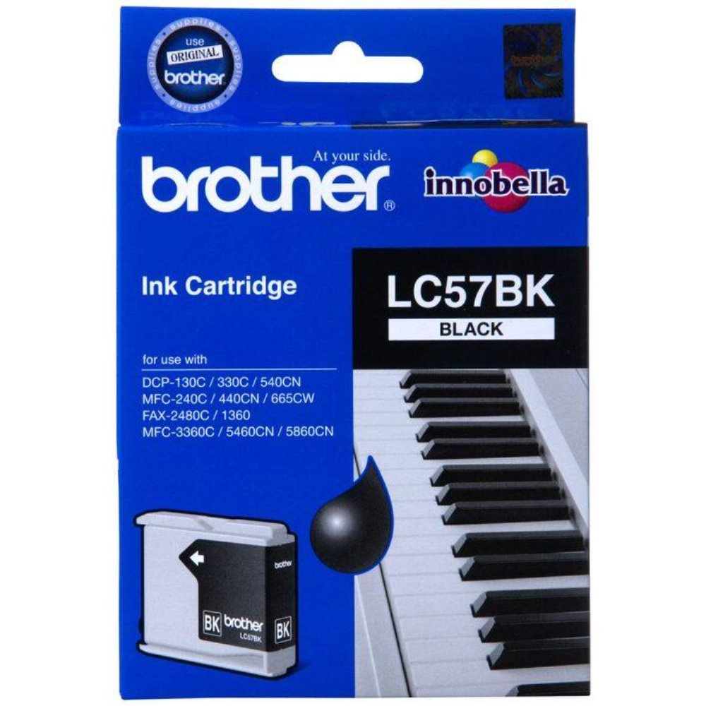 LC57 Brother genuine black ink