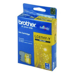 LC67HY Brother genuine yellow ink