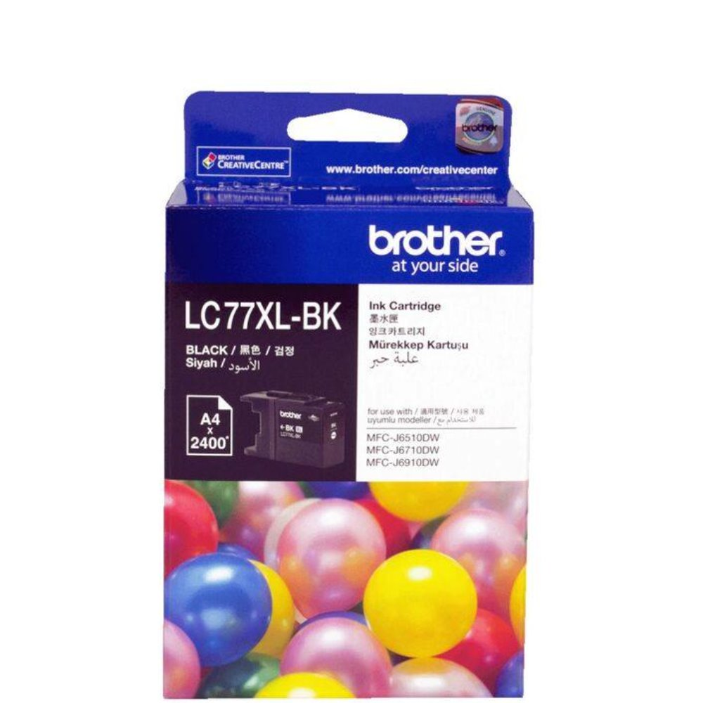 LC77XL Brother genuine black ink refill
