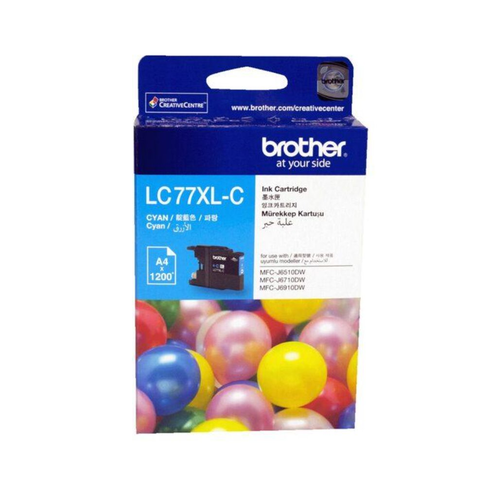 LC77XL Brother genuine cyan ink