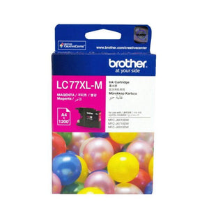LC77XL Brother genuine magenta ink