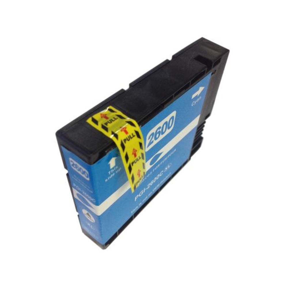 Compatible Canon PGI2600XL cyan ink cartridge