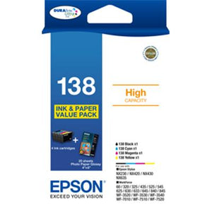T138 Epson Genuine Ink Value Pack