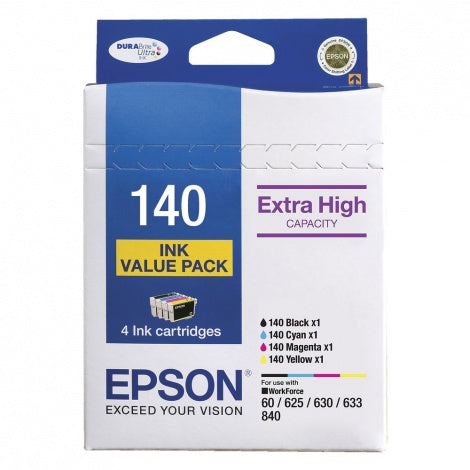 T140 Epson Genuine Ink Value Pack