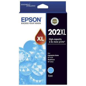 T202XL Epson Genuine Cyan Ink