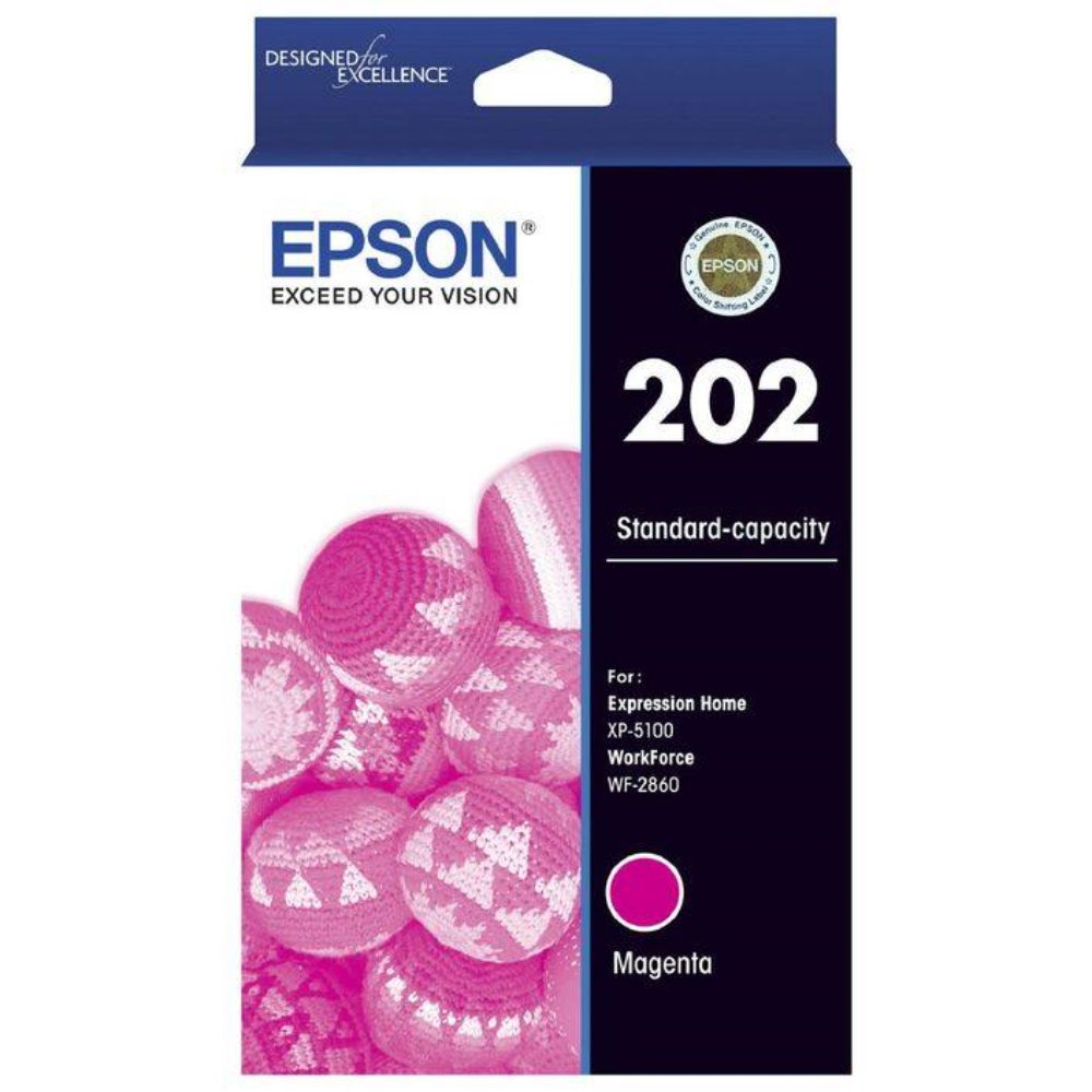 T202 Epson Genuine Magenta Ink