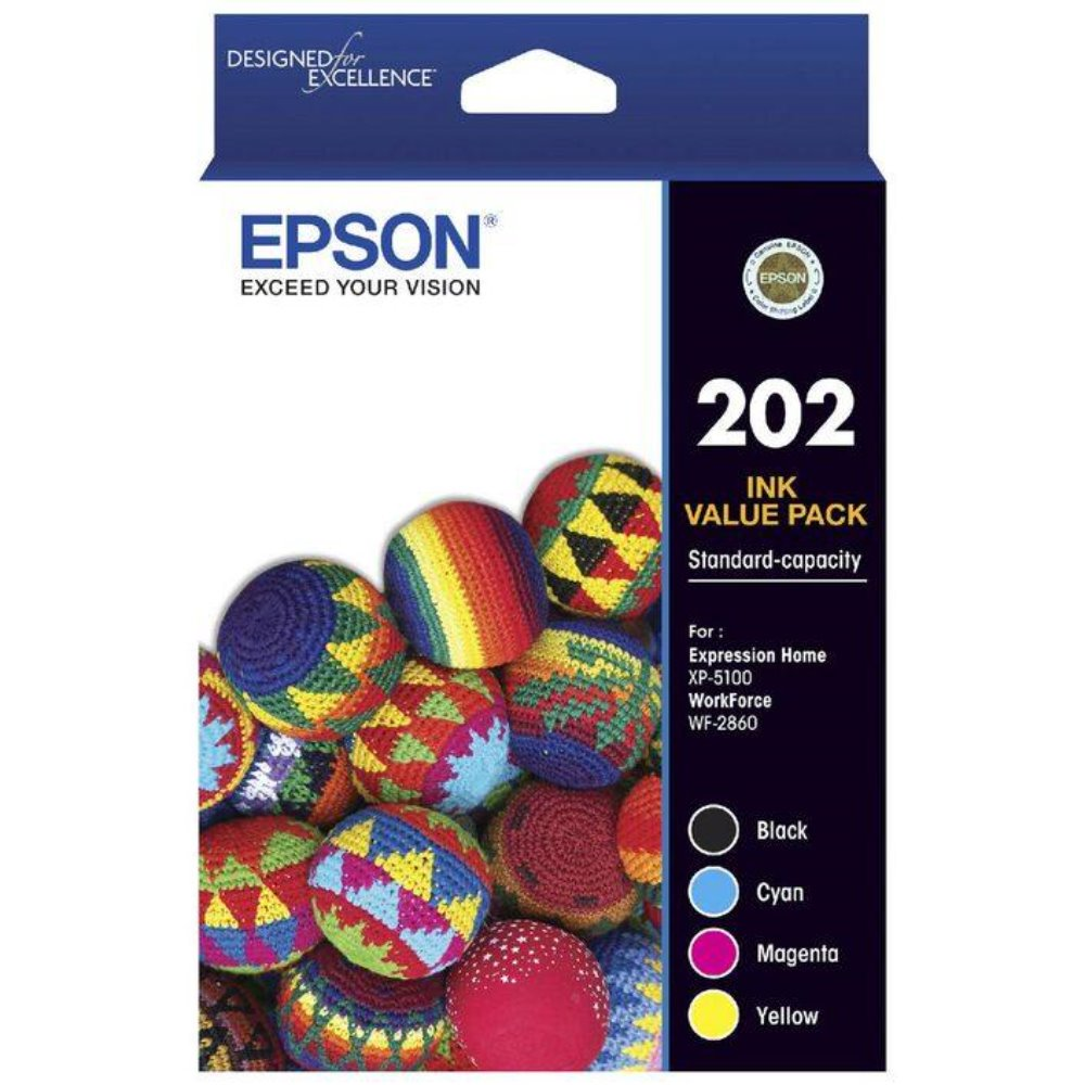 T202 Epson Genuine Ink Value Pack