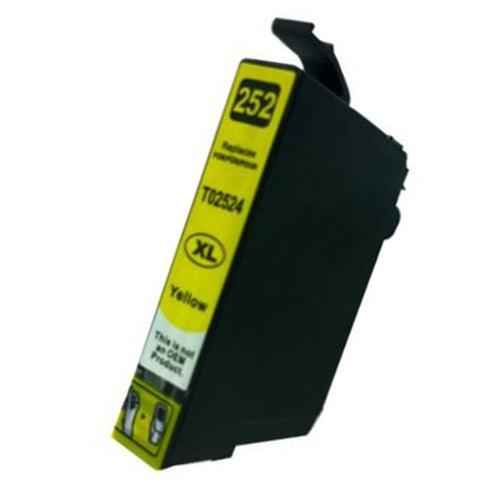 T252XL Epson compatible yellow ink