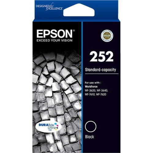 T252 Epson genuine black ink