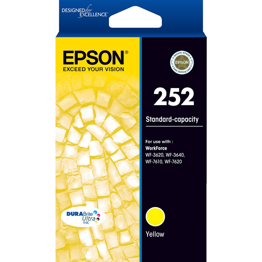T252 Epson genuine yellow ink