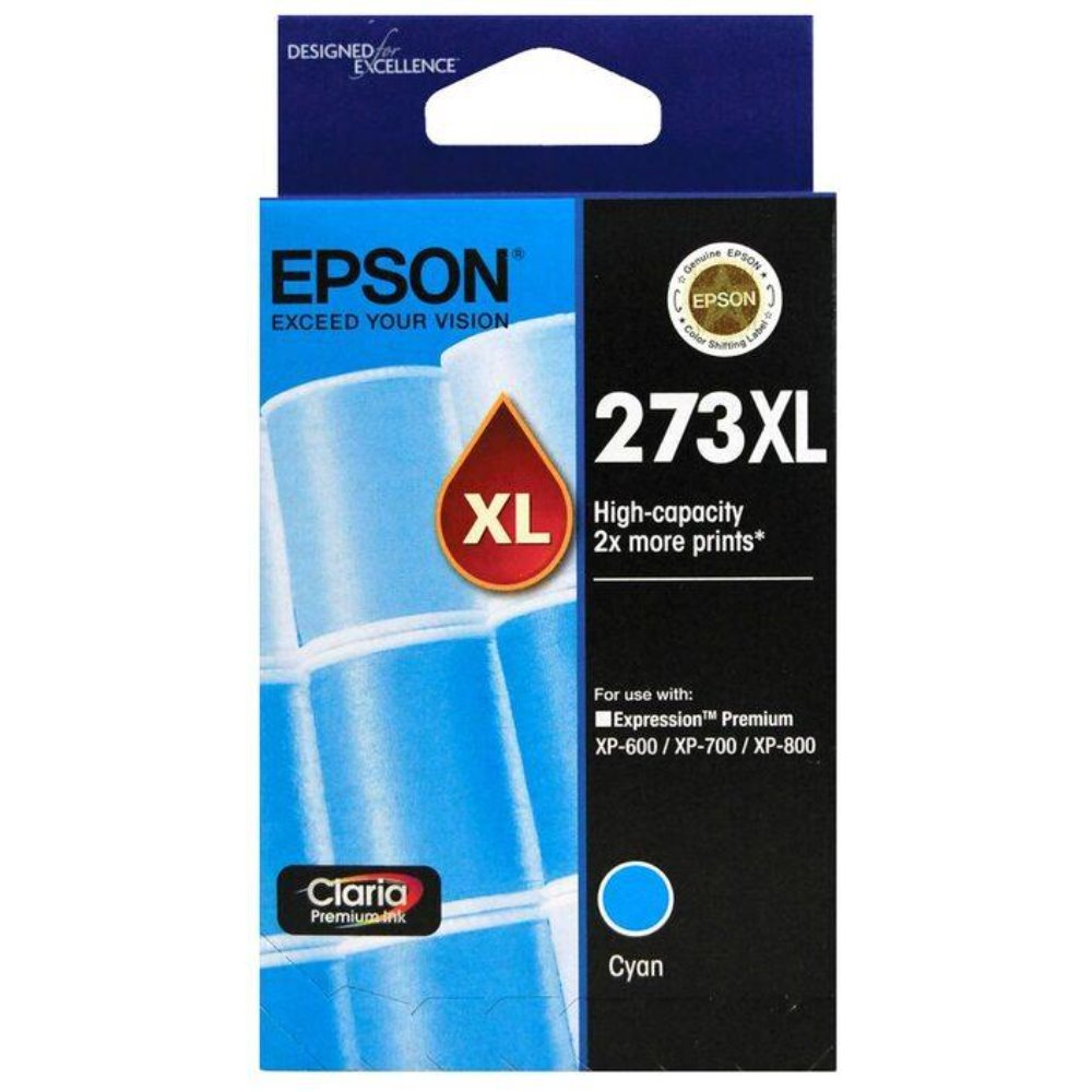 T273XL Epson genuine cyan ink