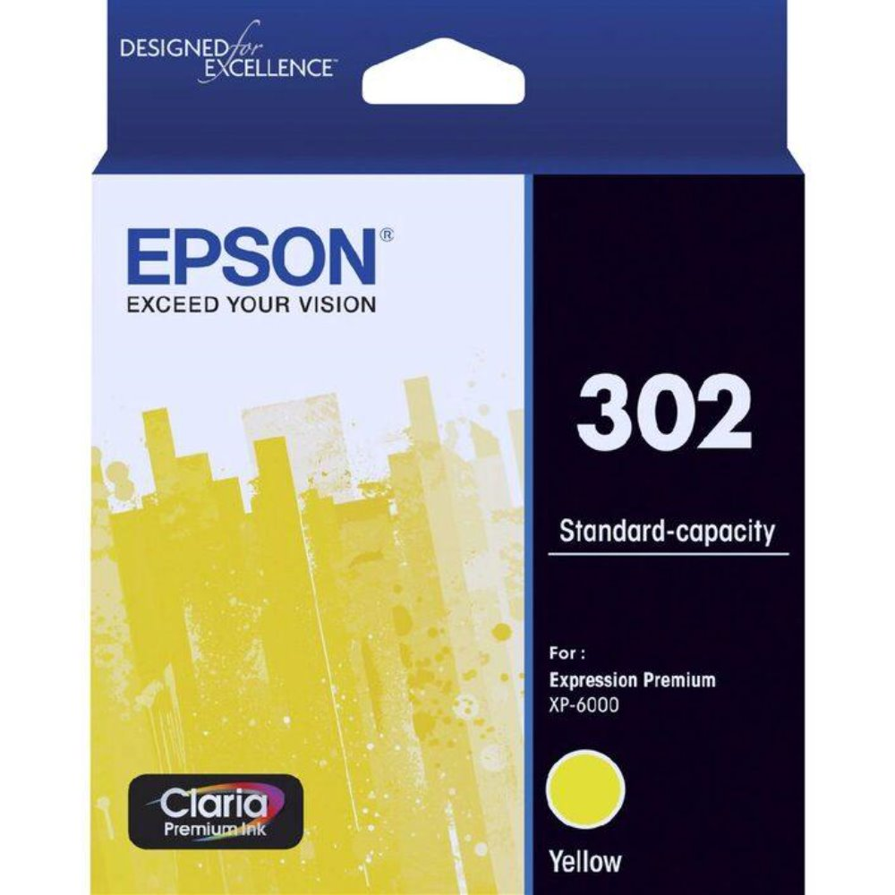 T302 Epson genuine yellow ink