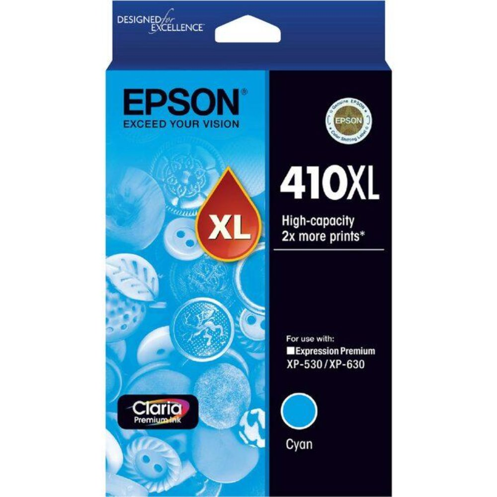 T410XL Epson genuine cyan ink