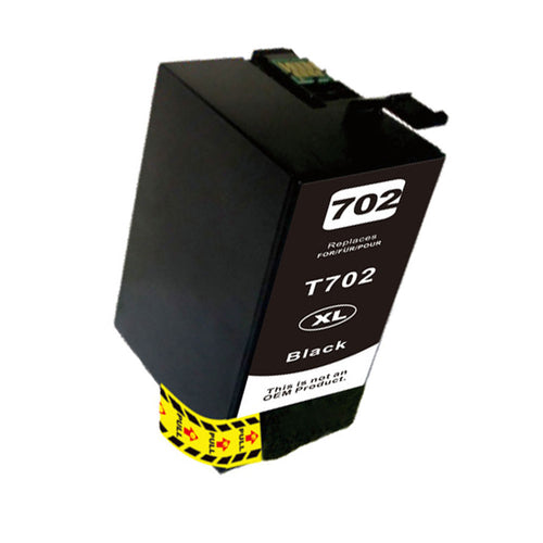 T702XL Epson compatible black ink
