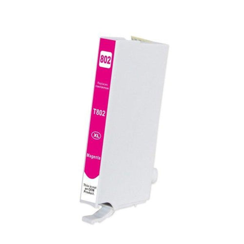 Epson T802XL compatible magenta ink cartridge
