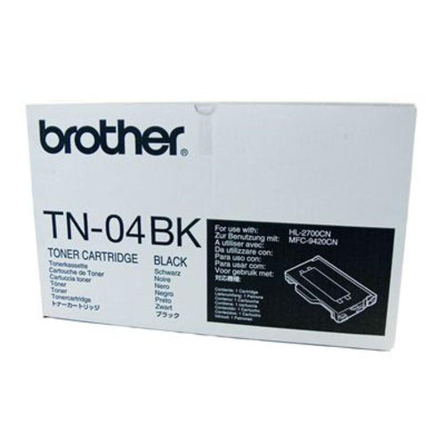 TN04BK Brother genuine black toner