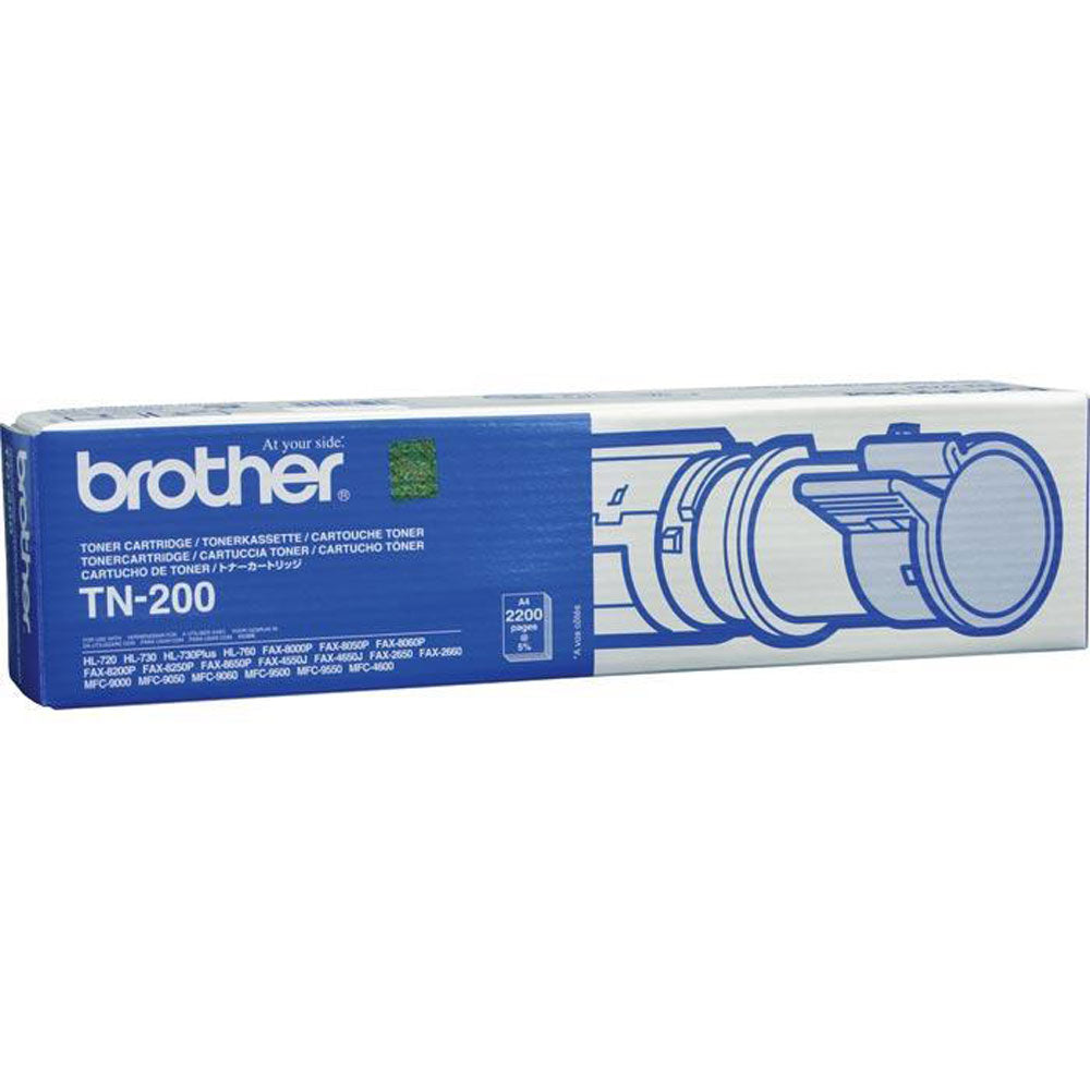 TN200 Brother Genuine Black Laser Toner