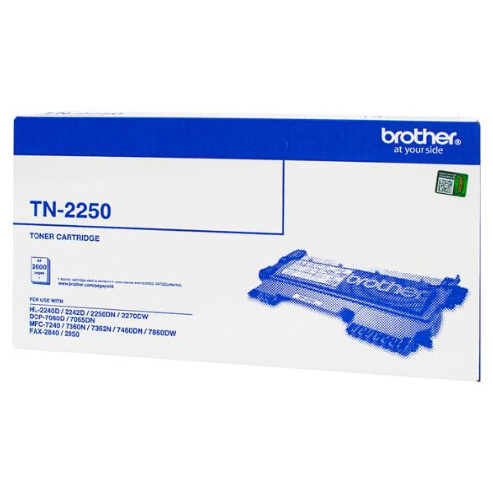 TN2250 Brother genuine black toner