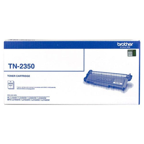 TN2350 Brother genuine black toner