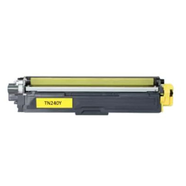 TN240 Brother compatible yellow laser toner