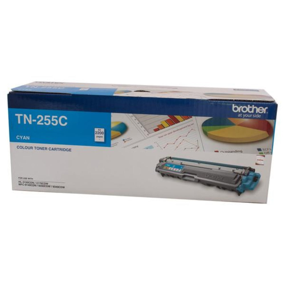 TN255 Brother genuine cyan toner