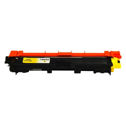 TN255 Brother compatible yellow laser toner