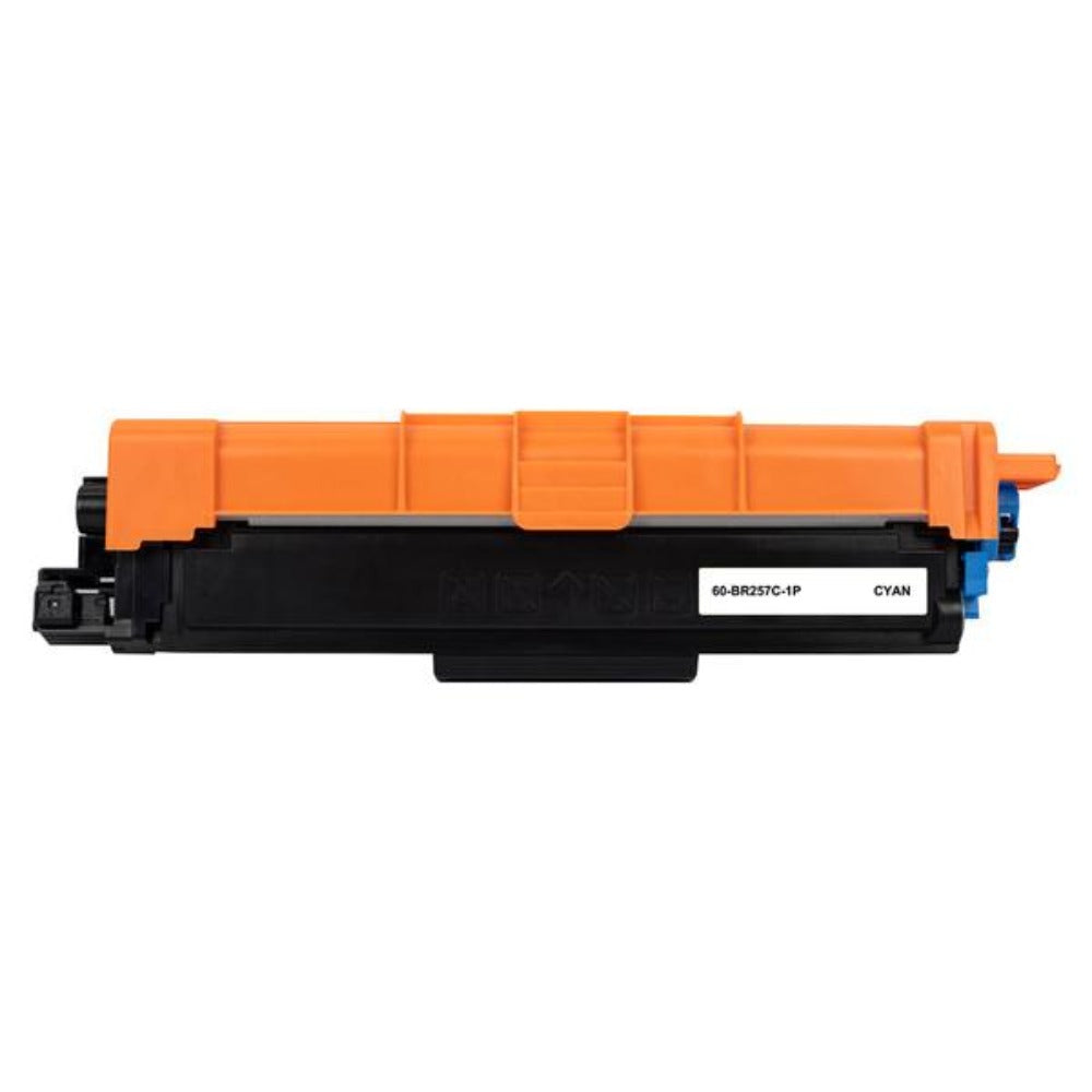 TN257 Brother compatible cyan laser toner